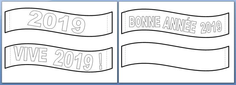 62_NOËL_Calendrier Joyeuse banderole 2019 (banderoles)