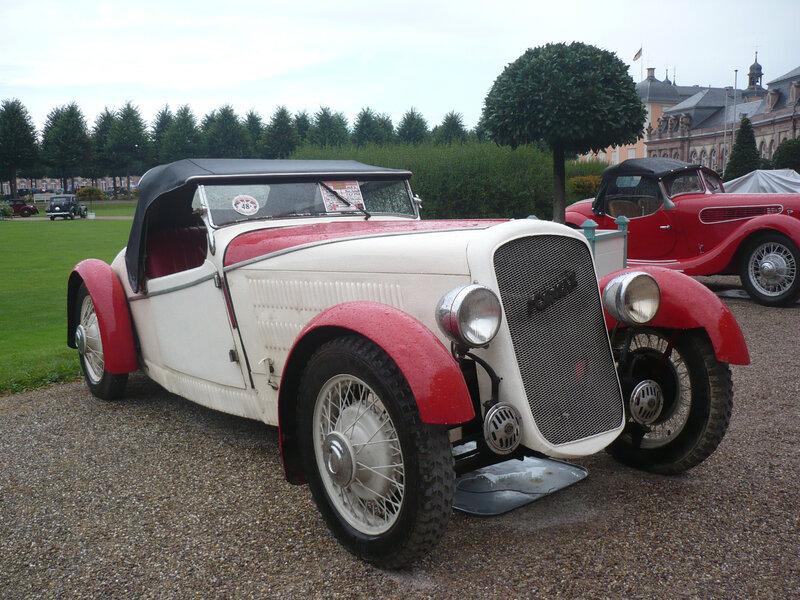 TORNAX Rex roadster Hebmüller 1935 Schwetzingen (1)