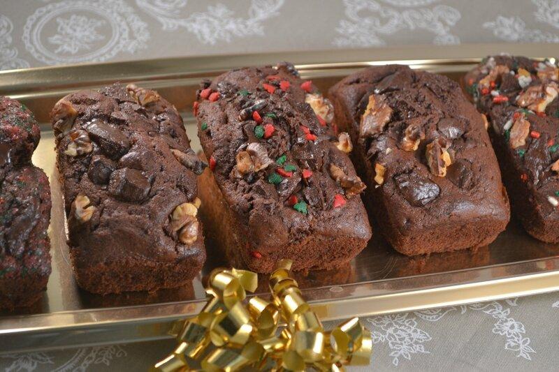 Cakes au chocolat de Noël (17)