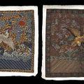 Manchu civil rank badges & manchu military rank badges. late qing dynasty