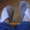 Recyclage chaussettes en chaussons