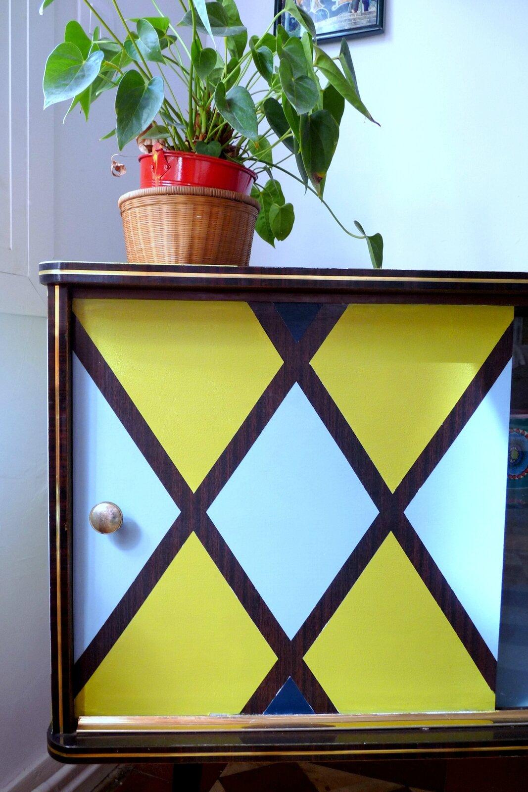 meuble bar formica années 50
