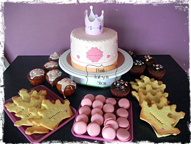 sweet table princesse prunillefee 1