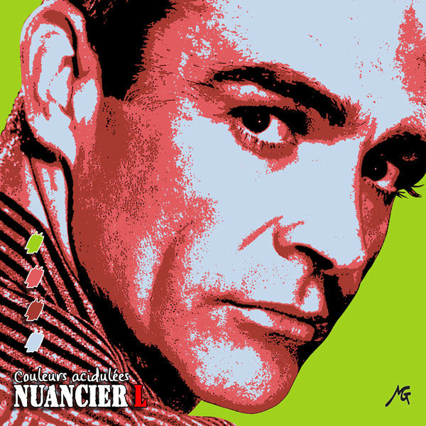 Nuancier pop'art L, Sean Connery