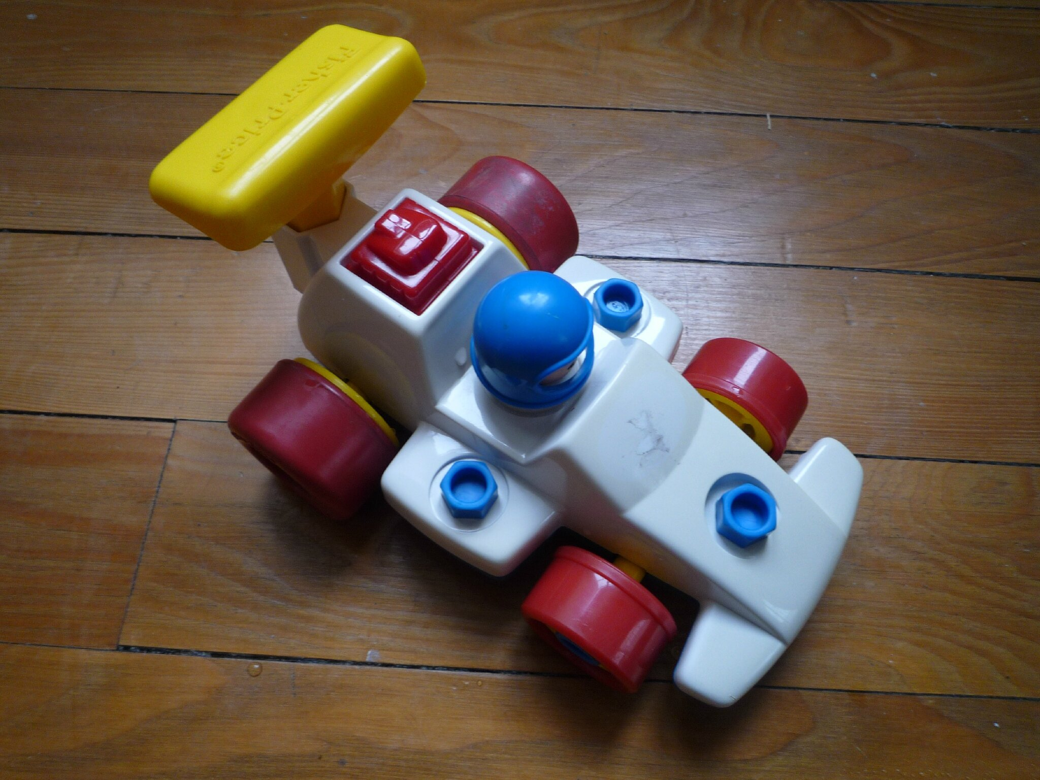 Voiture de course Fisher Price