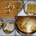 Cannellonis poulet et légumes