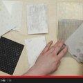 Vidéo technique stampin up : avec des plioirs à gaufrage