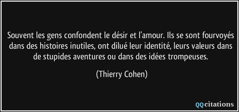 Citation Thierry Cohen