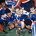 12 octobre 1988 FRANCE ... CHAMPION EUROPE ESPOIRS