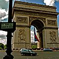 Place Charles de Gaulle côté 8e.
