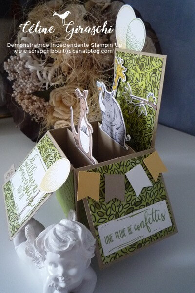Carte Pop Up Animaux -3