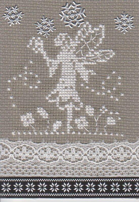 Petite elfe d'hiver de Romane 001