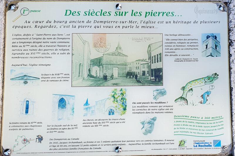 Fondation du Prieuré du Petit Maillezais et de l'église de Dompierre sur Mer en Aunis – le Canal Marans à La Rochelle - Pont de Grolleau (2)