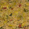 Quinoa aux poireaux