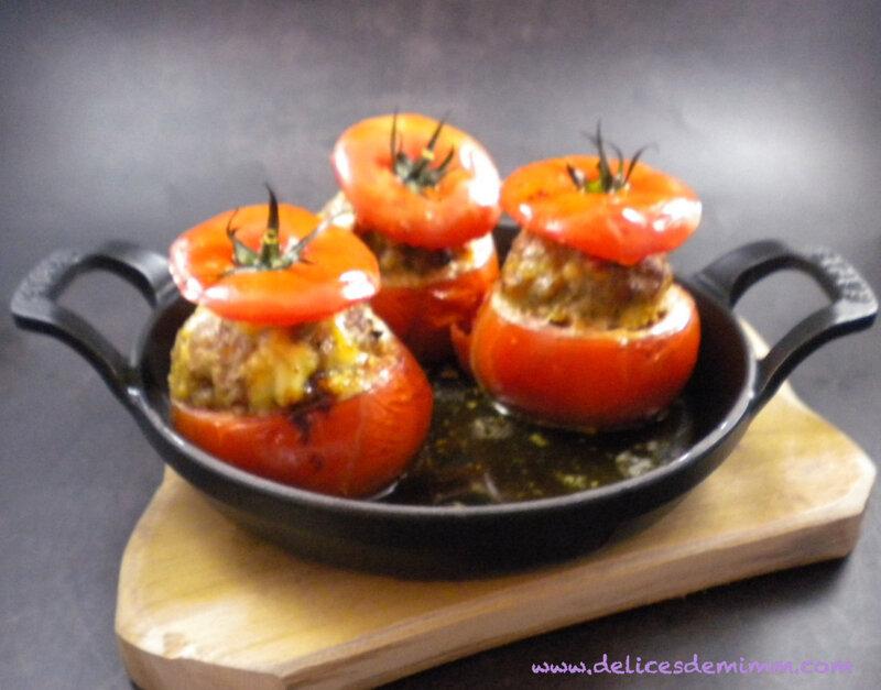 Tomates farcies à l'italienne 5