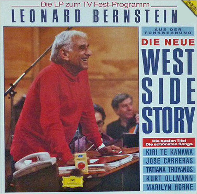 Vinyle West Side Story L Bernstein