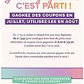 Stampin'up! 2 promotions de juillet