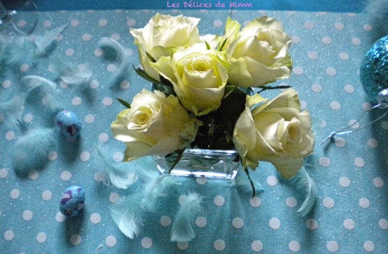 Ma table de Pâques couleur Mer du Sud 6