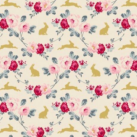 Rabbit et rose slate