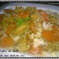 Tajine de dinde et carotte aux abricots sec