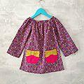 Poppy bow dress