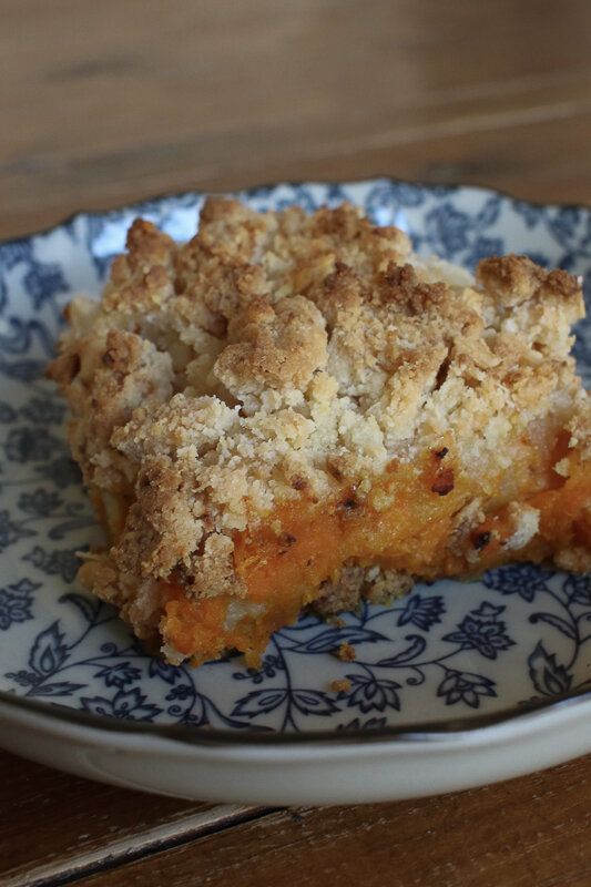 crumble courges