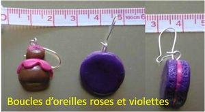 parure rose-violette