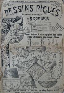 Dessins piqués n° 266 - 15 novembre 1922 (1)