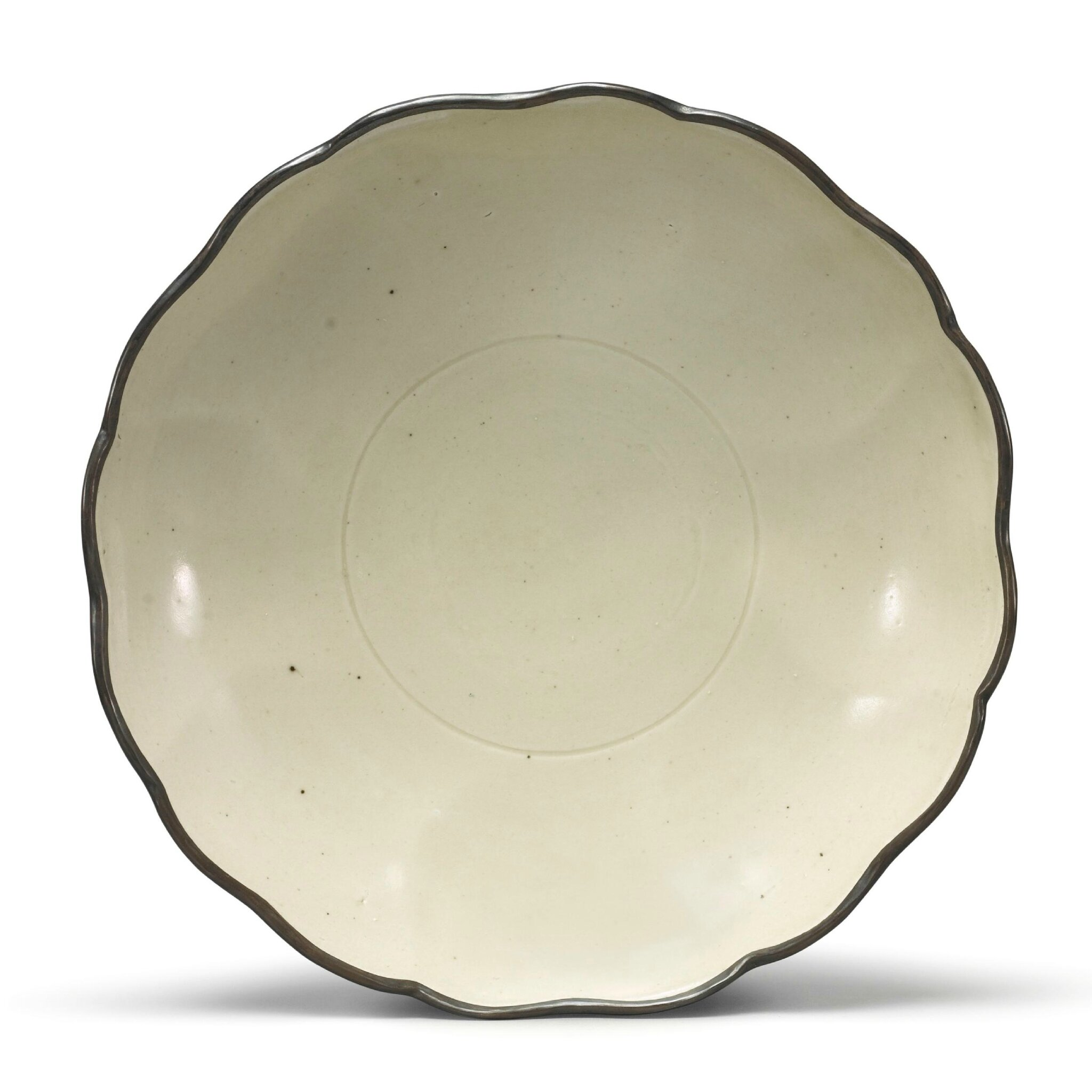 A 'Ding' mallow-form dish, Northern Song dynasty (960–1127)