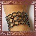 Bracelet résille indicolite