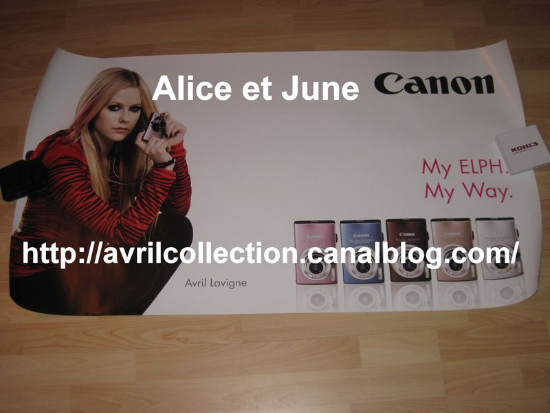 Poster promotionnel Canon (2008)