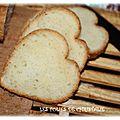 Pain de mie pour toasts (thermomix)