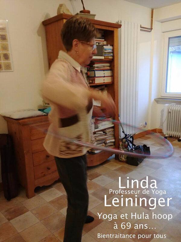 Linda Leininger Naturopathe - Linda Leininger Professeur de Yoga - hula hoop