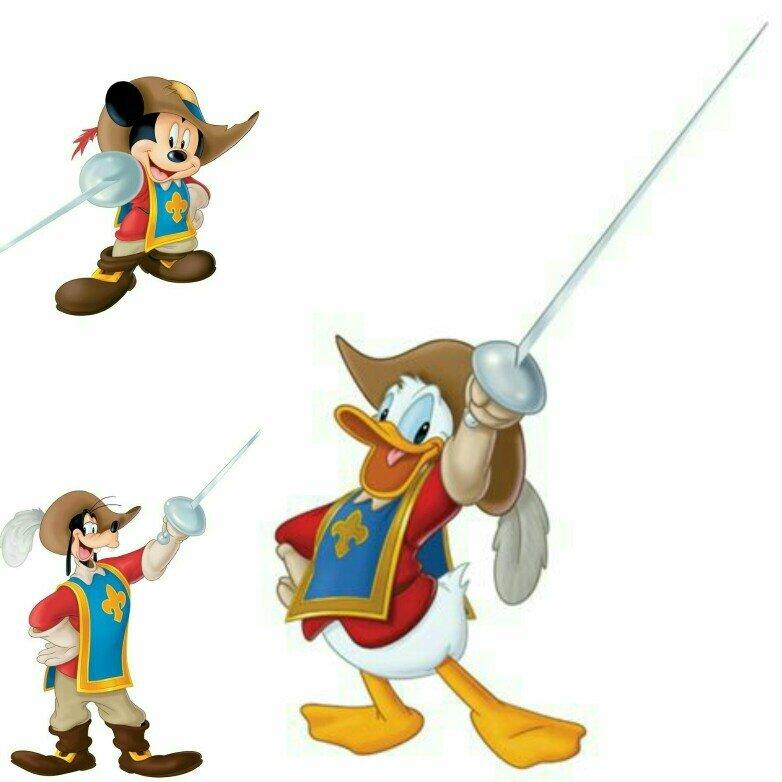 holloween disney musketeers