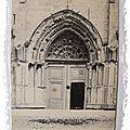 Cluny - Portail église Notre Dame