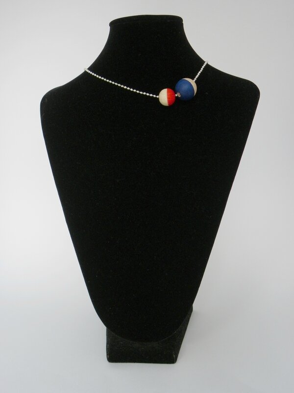 collier bleu rouge 3