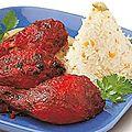 Recette du poulet tandoori
