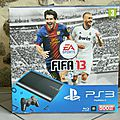 Ps3 500go + call of duty ( black ops ) + fifa 13