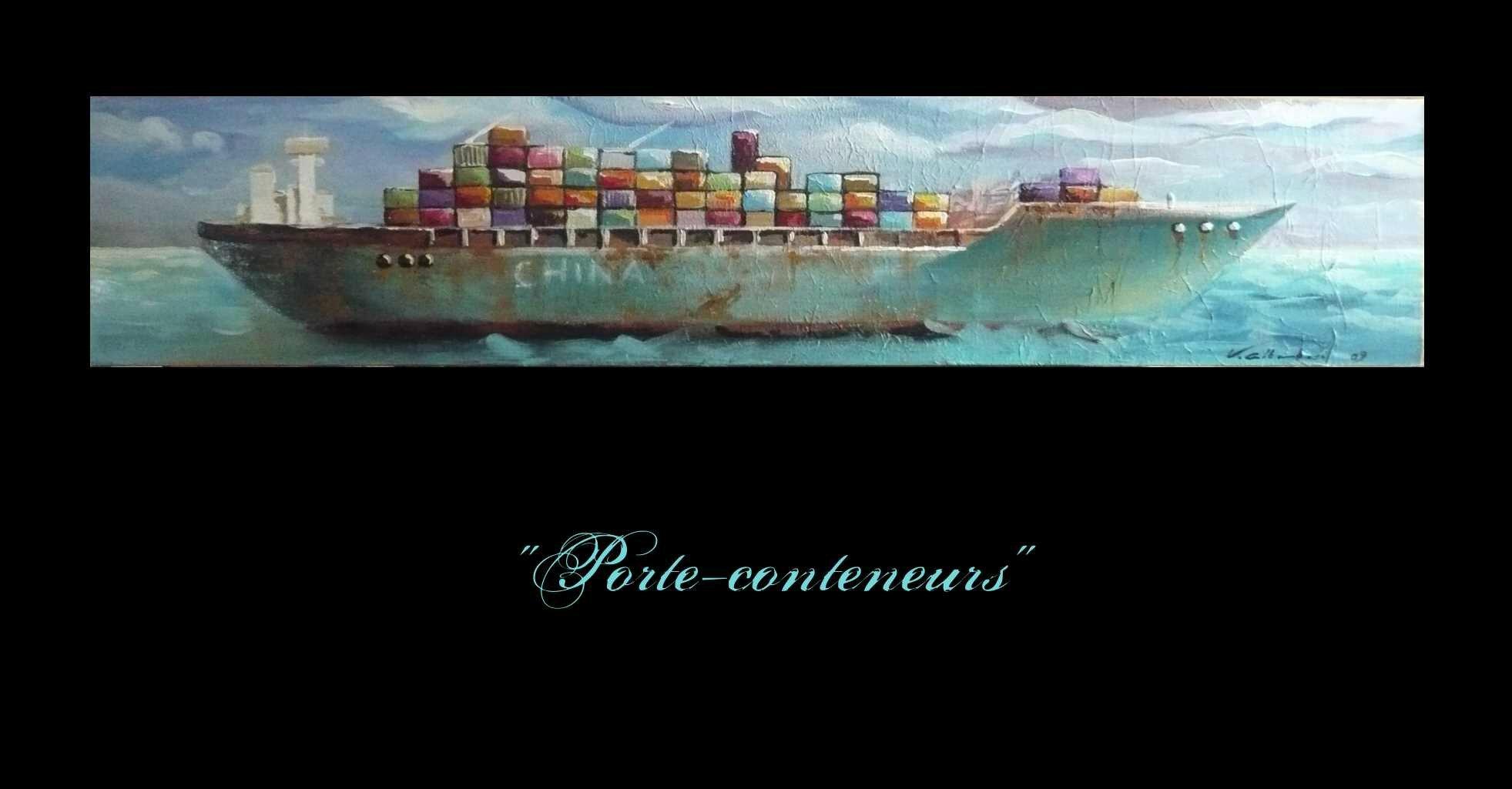 porte-conteneurs FD NOIR