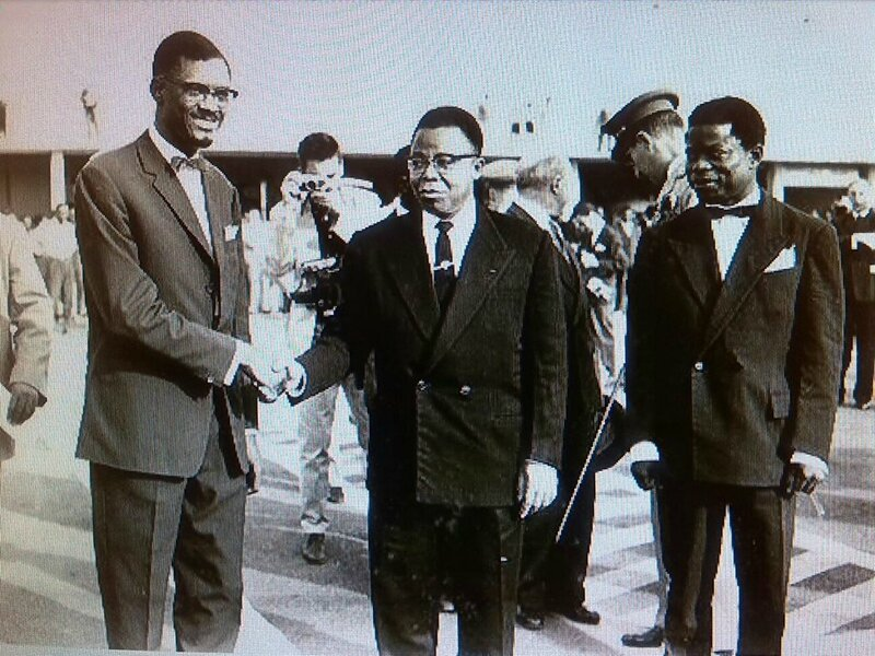 Lumumba et Kasa Vubu