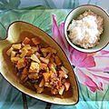 Curry de légumes et riz à l'ananas - La Valkyrie Végétarienne