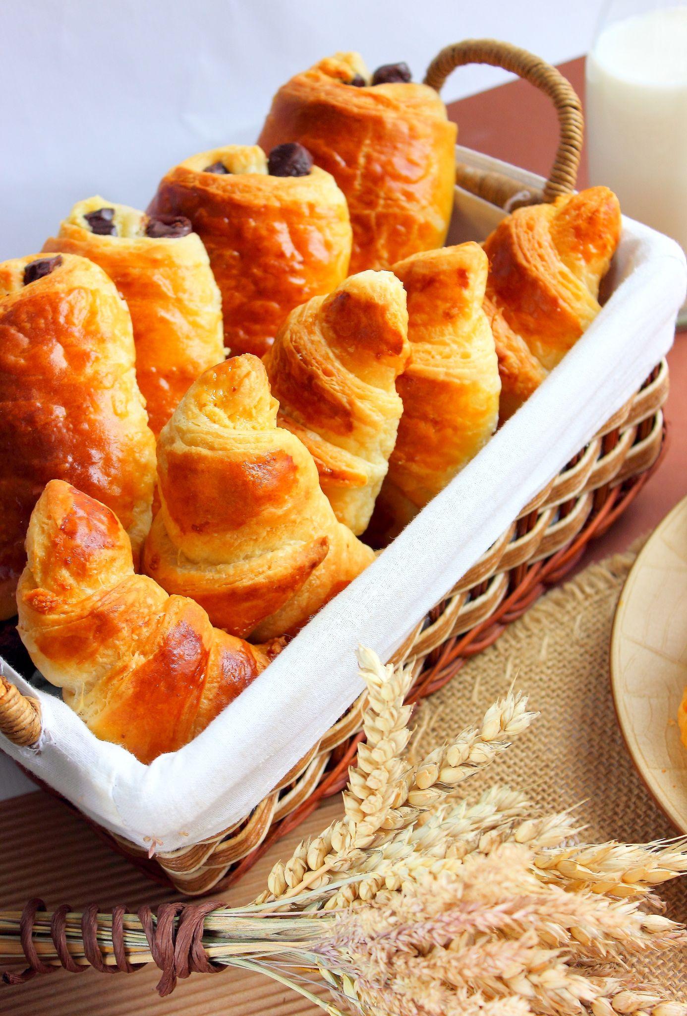 Croissant au amande4