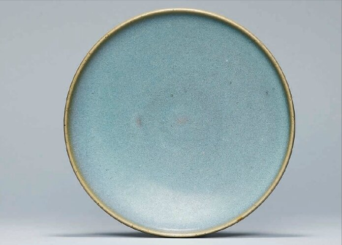 A Jun dish, Northern Song-Jin Dynasty (960-1234)
