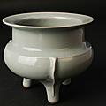 Brûle-parfum en porcelaine céladon longquan, chine, dynastie song (960-1279)