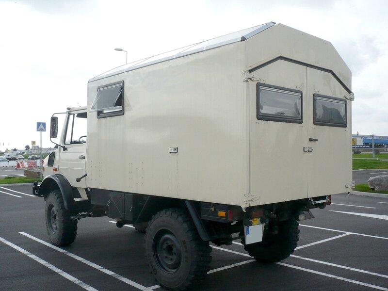 UNIMOG 1300L camping car Mundolsheim (2)