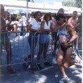 Momo en Course à pied, Embrun 1997.