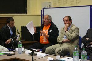 Patrice Cella barrages Sélune législatives 2012 Ducey réunion débat