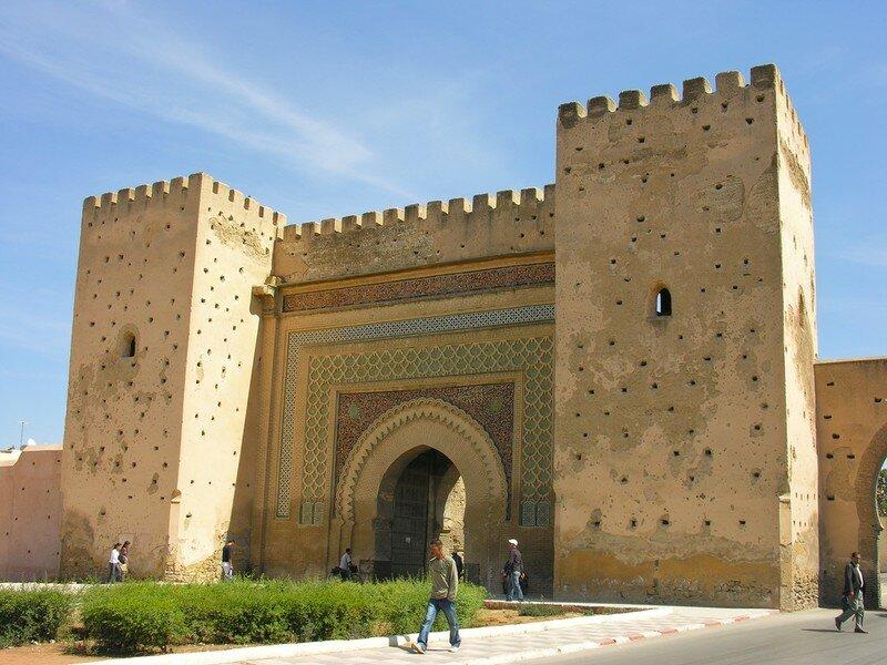 Bab lkhmiss Meknes