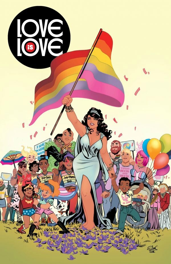 Bliss Comics Love is Love