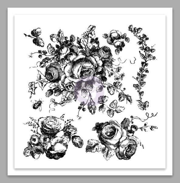 tampon floral Iod
